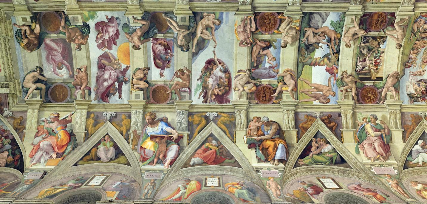 an analysis of the sistine chapel ceiling The sistine chapel ceiling   renaissance papacy renaissance man s sistine chapel sistine chapel ceiling st peter's basilica t thomas more analysis of the.
